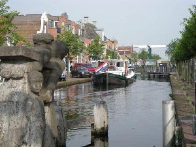 Foto van de markt in Gorredijk